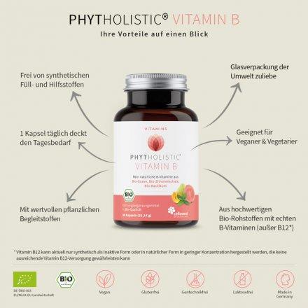 Bio Vitamin B Komplex Kapseln