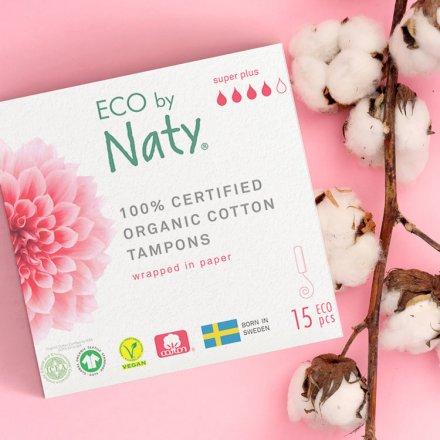 Tampons super Plus - aus Bio-Baumwolle