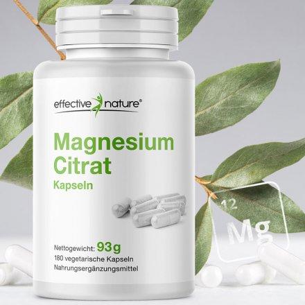 Magnesiumcitrat - 180 Kapseln