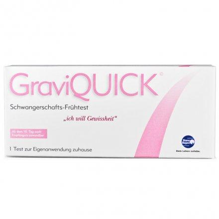 Schwangerschaftstest GraviQUICK früh - Testkassette