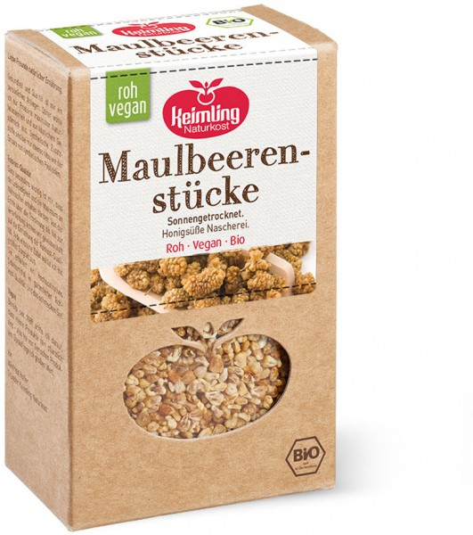 Maulbeerstücke - Bio - 200g