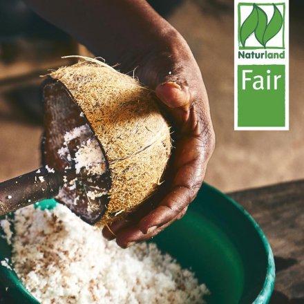 Kokosöl nativ Naturland Fair