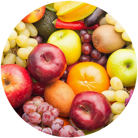 Früchte und Fructoseintoleranz
