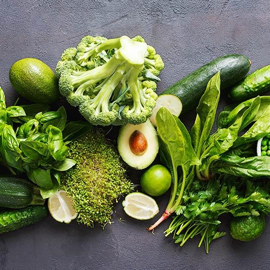 Auch frisches Gemüse strotzt vor wertvollen Nahrungsenzymen