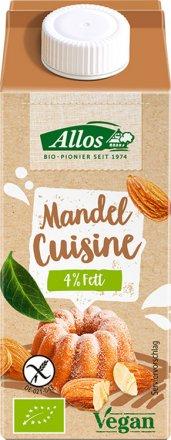 Mandel Cuisine - Die Sahne-Alternative zum Backen