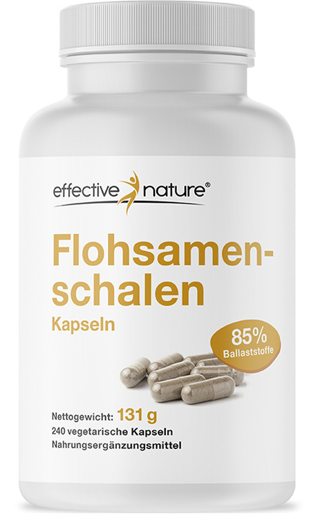 Flohsamen von effective nature