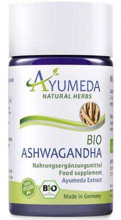 Konzentrierter Bio-Ashwagandha-Extrakt in Kapseln