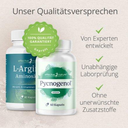 L-Arginin plus Pinienrindenextrakt Pycnogenol®