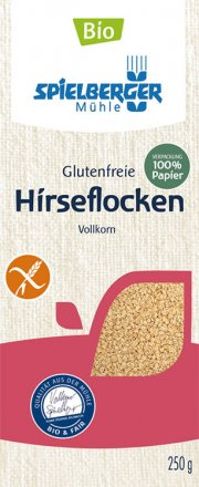 Hirseflocken glutenfrei - Spielberger - Bio - 250g