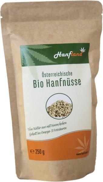 Hanfsamen geschält - Bio - 250g