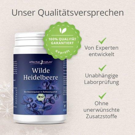 Wilde Heidelbeere - Fruchtpulver in Rohkostqualiät