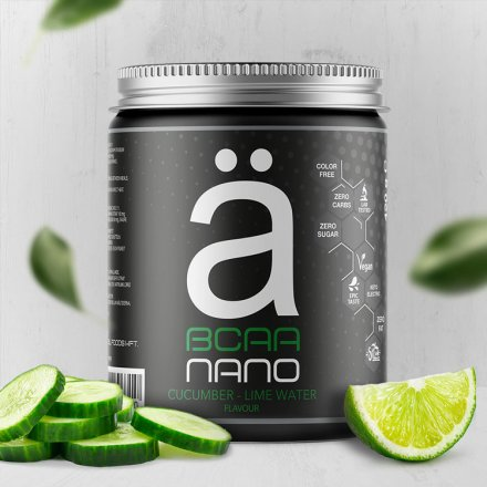 BCAA Nano - Cucumber-Lime Water - 420 g