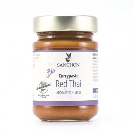Red Thai Currypaste - Sanchon - Bio - 190g