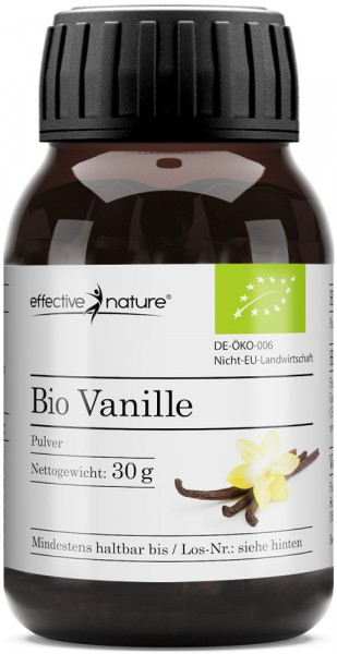 Vanille Pulver - Bio - 30g