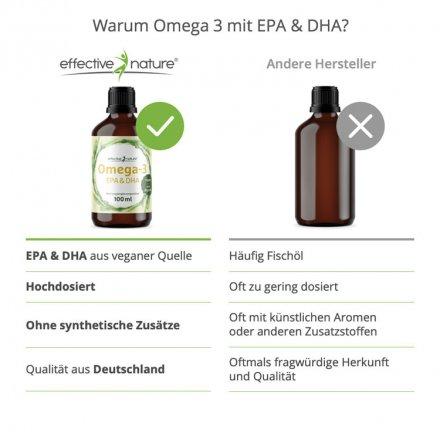 Omega-3 - EPA- und DHA-Konzentrat - 100ml