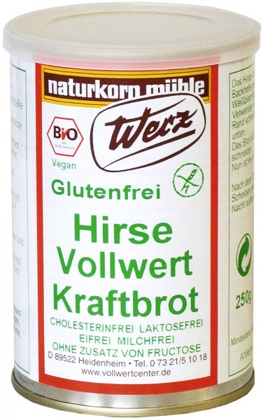 Hirse Vollwert Kraftbrot - Bio - 250g