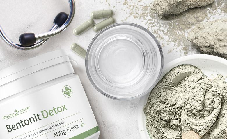 Bentonit Detox Pulver 200g
