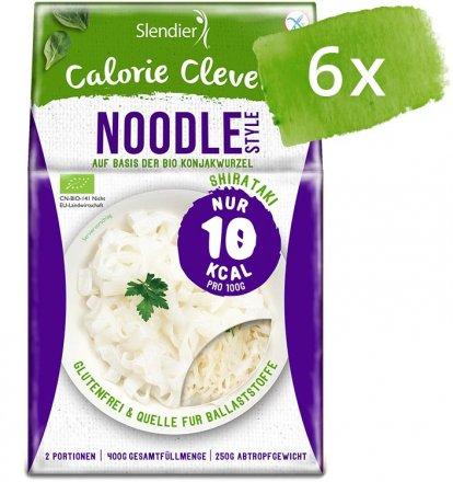 Kalorienarme Konjak-Noodles - 6er-Pack