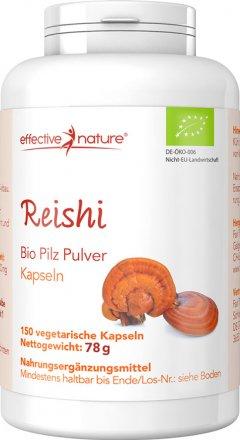 Reishi Pilz Kapseln - Bio - 150 Stk. - 78g