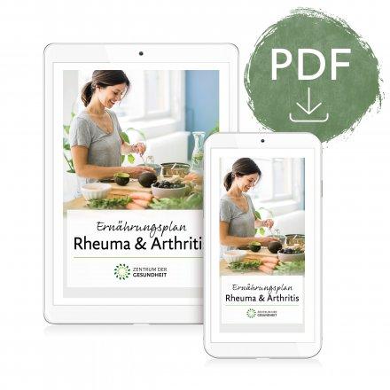 Ernährungsplan Rheuma - digital