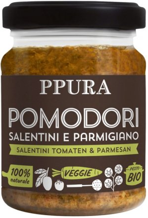 Pesto Pomodori - mit sonnengereiften Tomaten und Parmesan