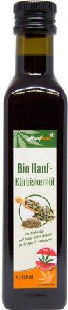 Hanf-Kürbiskernöl - kulinarisch vielseitig