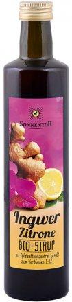 Ingwer-Zitronen Sirup - Bio - 500 ml