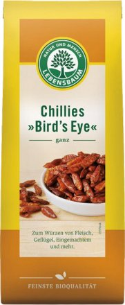 Chilis, ganze Schoten