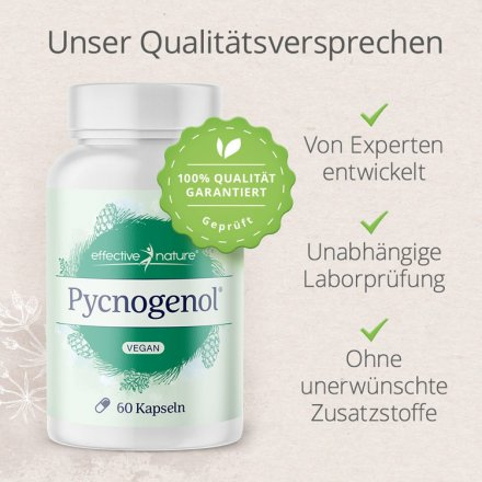 Pycnogenol® - Pinienrindenextrakt von effective nature