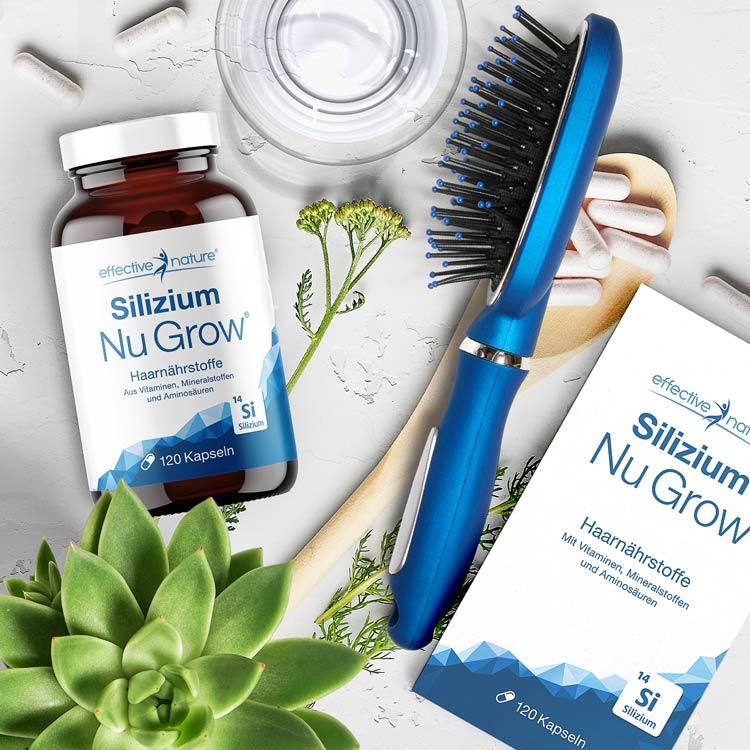 Silizium Nu Grow Haarnährstoffe