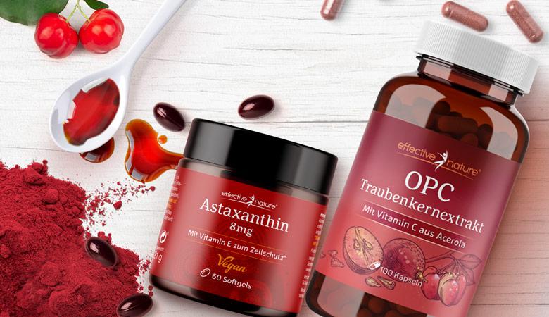 Astaxanthin und OPC