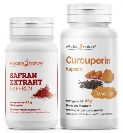 Safran Extrakt und Curcuperin