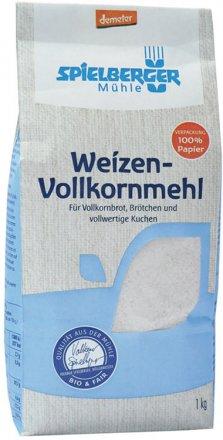 Weizen-Vollkornmehl demeter - Spielberger - Bio - 1000g