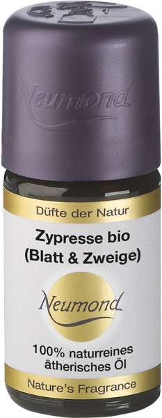 Zypresse (Blatt & Zweige) bio - ätherisches Öl - 5ml