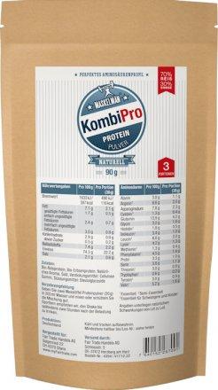 Maskelmän Kombi-Pro - Protein Pulver - Natur - 90g - Probierbeutel