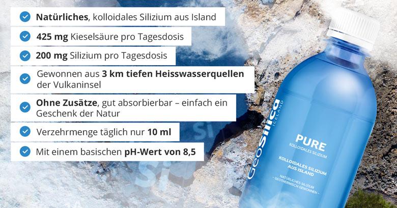 GeoSilica aus Island
