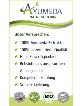 Konzentrierter Bio-Moringa-Extrakt in Kapseln