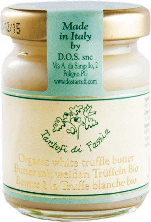 Butter mit weißen Trüffeln - Bio