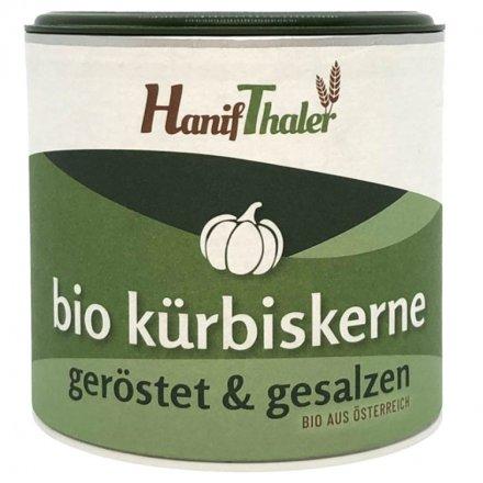 Kürbiskerne geröstet und gesalzen - Bio - 100g