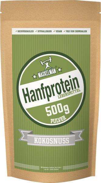Maskelmän Hanfprotein Pulver Kokosnuss - 500g