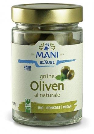 Grüne Oliven - al naturale