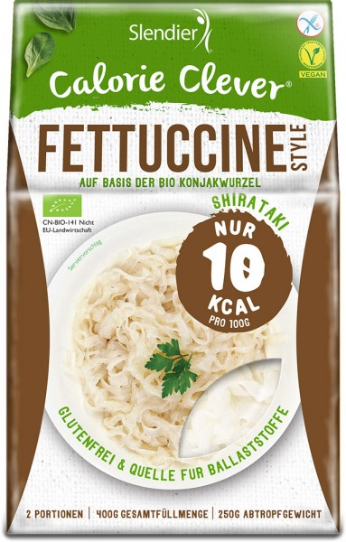 Konjak Fettuccine - Slendier - Bio - 400g - 6 Einheiten
