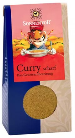 Curry scharf - Bio - 35g
