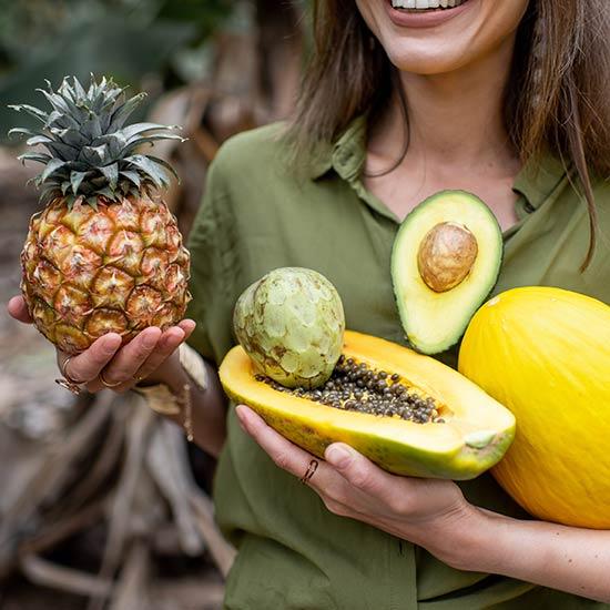 Nahrungsenzyme stecken u.a. in vielen tropischen Früchten