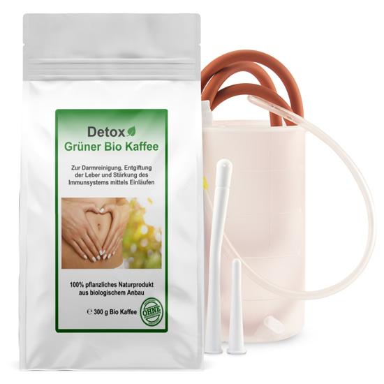 Grüner Kaffee + Einlauf