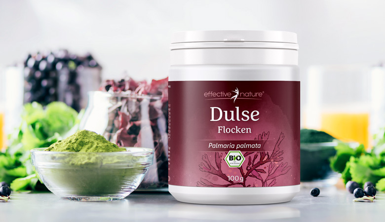 Product image dulse flakes from effective nature