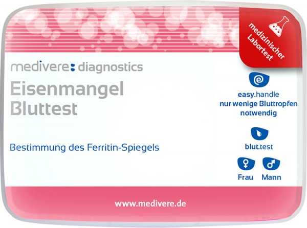 Eisenmangel Bluttest