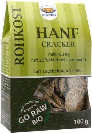 Hanf Cracker - Bio - 100g