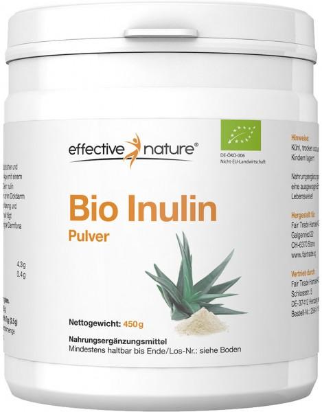 Inulin Pulver - Bio - 450g