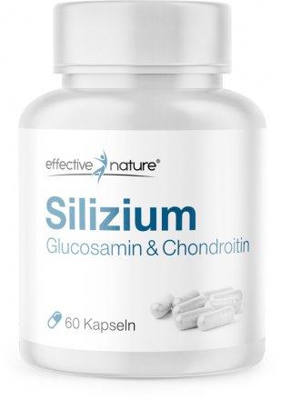 Silizium mit Glucosamin & Chondroitin - 60 Kapseln